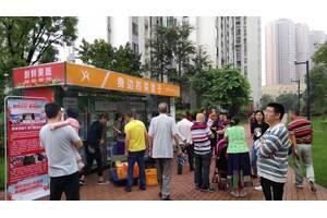 共享果蔬店落地济宁市,觅橱厂家手把手指导开业,太火爆!